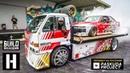 РУССКАЯ ОЗВУЧКА PASKUDAPROJECT Baller Hauler AE 86 Corolla 3SGE BEAMS Powered Drift Car