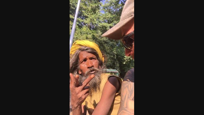 Я и Сидх,Индия город Ришикеш 😁