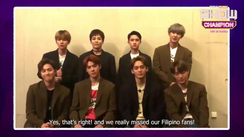 180918 All Access Production Facebook Update with EXO
