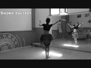 OrionIS Slow Moves: Snake twister \ Трайбл танцевальный словарь