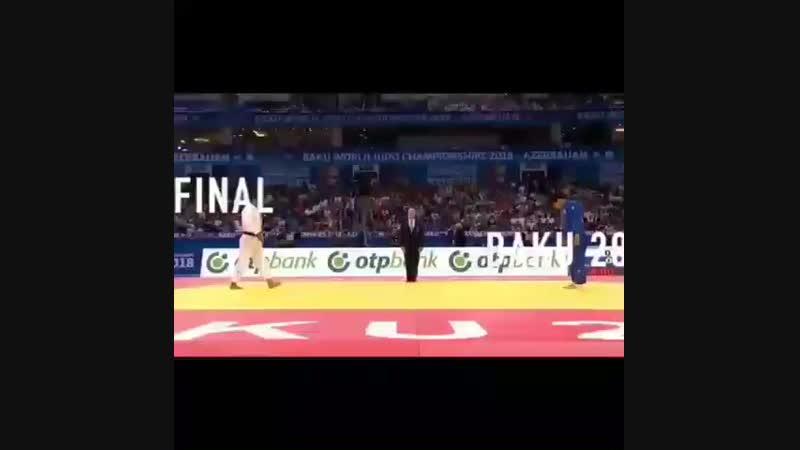 An Changrim Final -73kg world championship Baku 2018