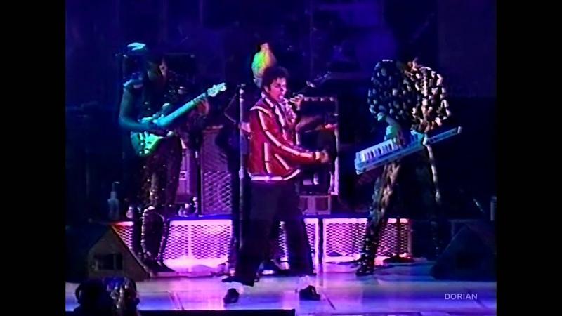 Michael Jackson - Thriller live Bad Tour in Yokohama 1987 - Enhanced - High Definition