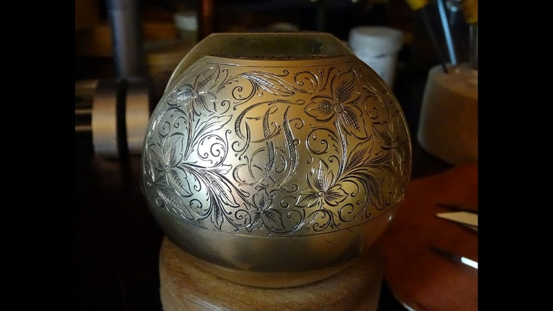 гравировка ручная штихельная. hand engraving.