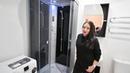 Частичный ремонт совмещенного санузла - отзыв клиента, сборка душевой кабины - Идеальный Дом