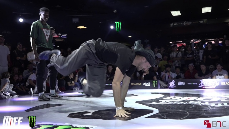 Backyard Funk Vs VakhoCyga - Top 16 - Freestyle Session 2018 - Pro Breaking Tour - BNC