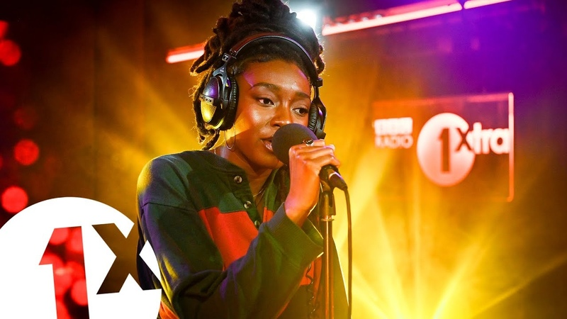 Little simz vivrant thing q tip cover in the 1xtra live lounge