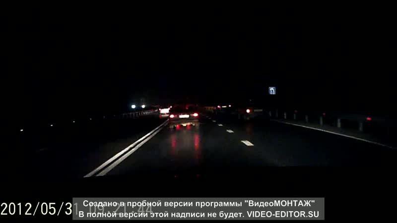 Спорное ДТП на трассе Северодвинск-Архангельск