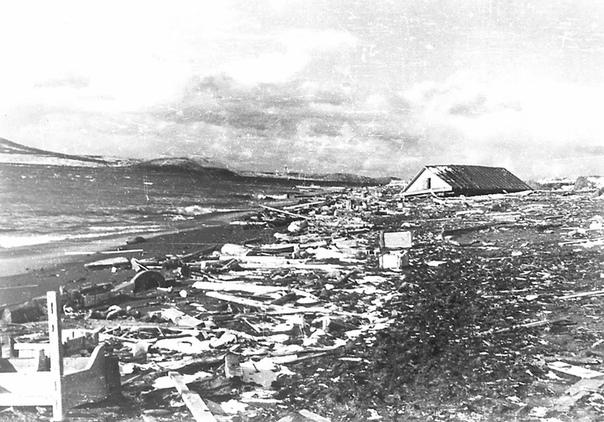 Цунами в Северо-Курильске