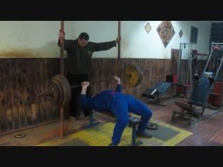 Алексей Субботин жим 155 кг на 5 повторений