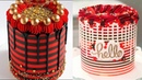 11 Awesome Red and Black Cake - So Yummy Cake Decorating Ideas (Nov) 18