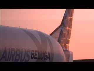 Belugaxl flight test campaign first a350 xwb wings transportation