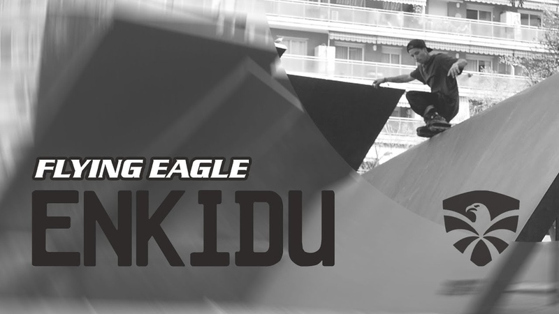 Xavi Eguino riding the New Flying Eagle ENKIDU