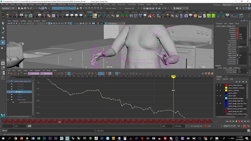 Cleaning and Removing Noise from Mocap Data in Maya