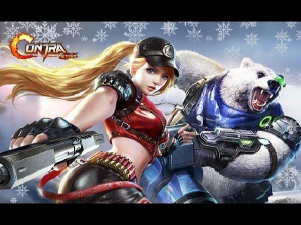 Garena Contra Returns Gameplay Летсплей (Android,APK,iOS) Завершаем 3 главу и проходим новые места