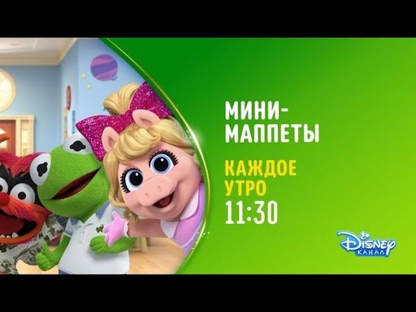 Мультсериал «Мини-Маппеты» на Канале DIsney. Мисс Пигги