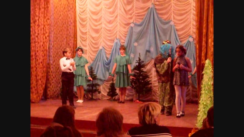 Выступление 6а Новогодние приключения Маши и Вити