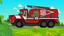Котяткины машинки - Машины-спасатели Скорая помощь, Пожарная машина, МЧС - Песни для детей