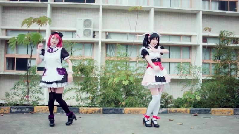 "[Love Live!] Mogyutto _""love_"" de Sekkin Chuu! Duet Dance Cover [MIRROR]"