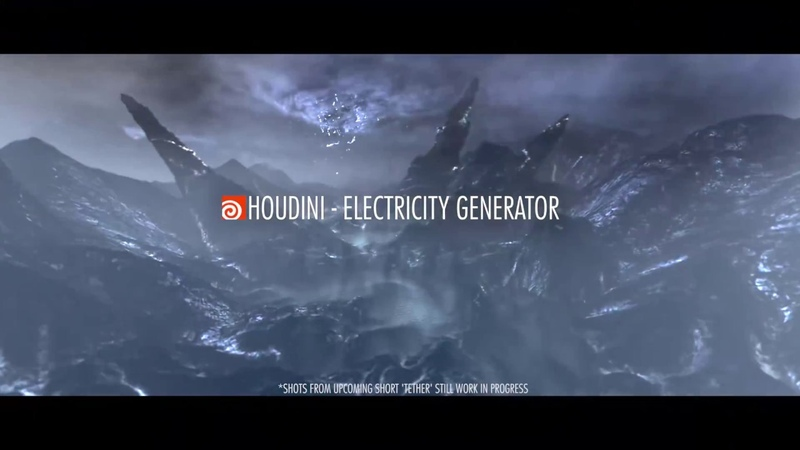 Houdini Tutorial - Create your own Electricity Generator