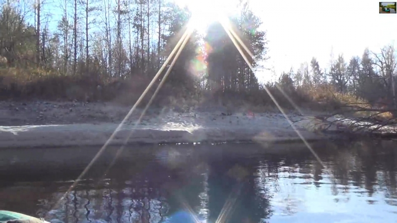 Одиночный сплав по реке Люнда - 2 часть (Full HD) _⁄ Single floating on the river Lunda - part 2