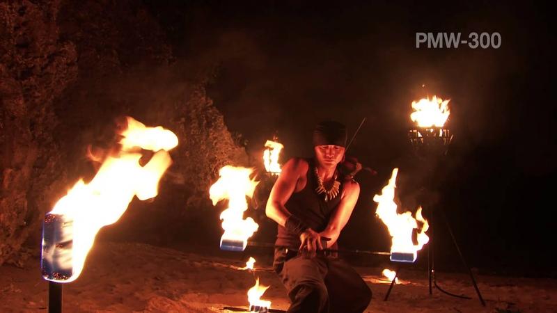 XDCAM Camcorder PMW 300 Promotion Video Замечательное музыкальное сопровождение ролика И природа глаз радует