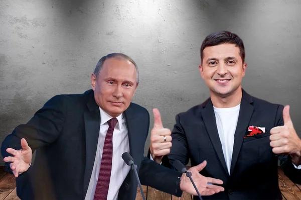 Путин и Зеленский: сравним несравнимое