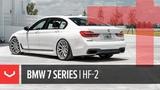 Vossen Hybrid Forged HF-2 Wheel BMW 740i M-Sport Satin Silver
