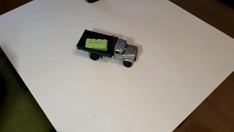 Переделка ЗиЛ-130 бортовой в радиоверсию масштаб 1:43