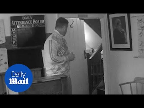 'Ghost' SLAMS A DOOR after being taunted by ghost hunter