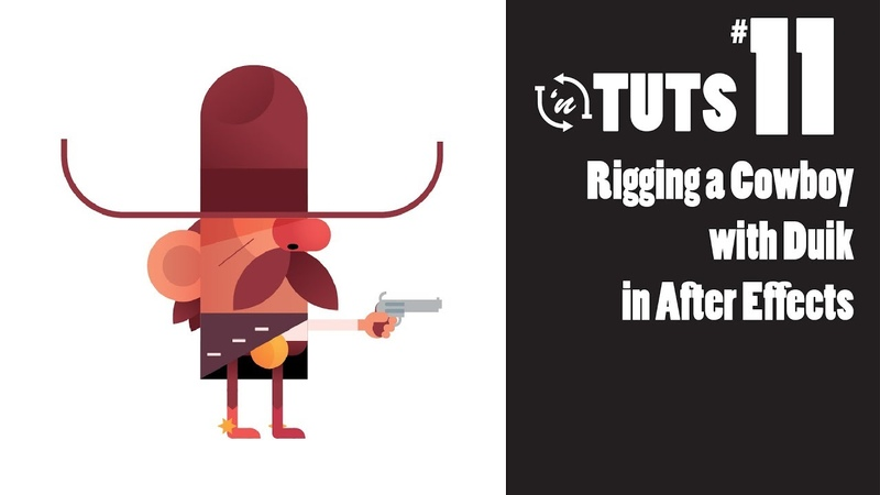TnT Tuts - 11 - Rigging a Cowboy with Duik using After Effects