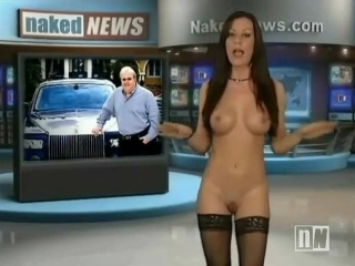 Ведущая новостей valentina taylor с сайта naked news раздевается перед вами… несколько раз :)