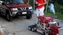 RC Truck Trails Nissan Patrol. Plus The Operator - Diesel Power