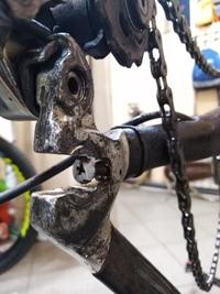 Вот такой велосипед топового уровня бывал в нашей мастерской