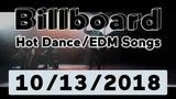 Billboard Top 50 Hot DanceElectronicEDM Songs (October 13, 2018)