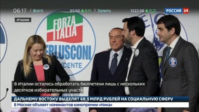 Новости на Россия 24 • Выборы в Италии: Ренци признал поражение и решил уйти в отставку