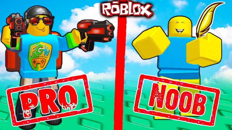 Roblox ПРО vs НУБ Симулятор Оружия в Роблокс Weapon Simulator
