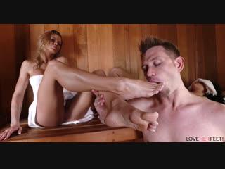 Jessa rhodes sneaky sauna sex