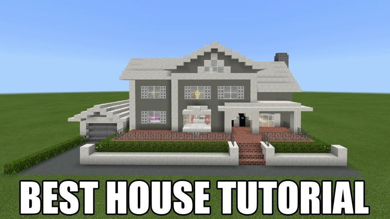 Minecraft Tutorial How To Make A Suburban House 18 Best House 2018