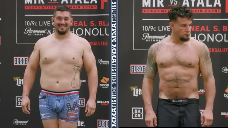 @TheFrankMir and Javy Ayala are in the heavyweight limit, making their Bellator212 co-main event official. Who you got - - Ful v