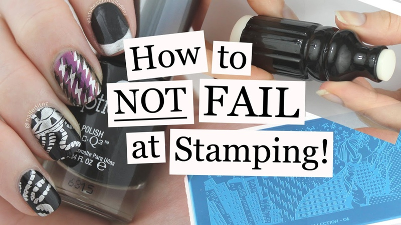 How To NOT FAIL At Stamping | Nail Art Tutorial | Nailed It NZ