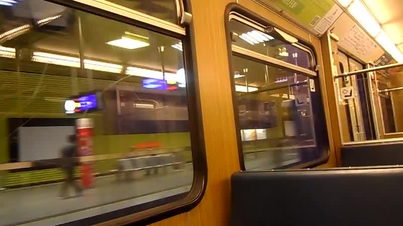 Мюнхен,метрочас ночи