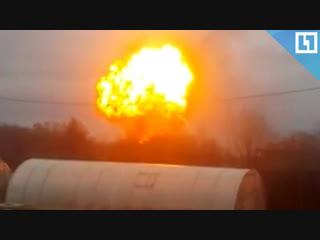 Мощный взрыв в Карелии