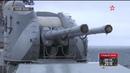 Смертоносные Москиты корабли ТОФ уничтожили дрейфующую цель