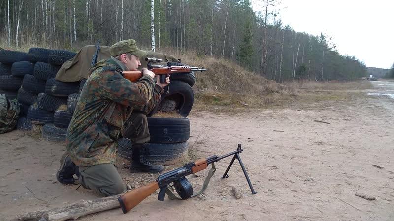 Пять выстрелов с СВТ-40