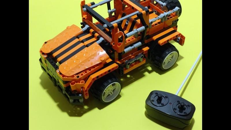 Cheapest RC Lego Technic Clone Offroad Vehicle Qi Zhi Le Blocks