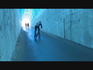Winter place to ride on bmx. Igor Onishchenko