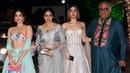 Sridevi With HOT Daughters Jhanvi Khushi Kapoor At Shilpa Shetty's Diwali Party