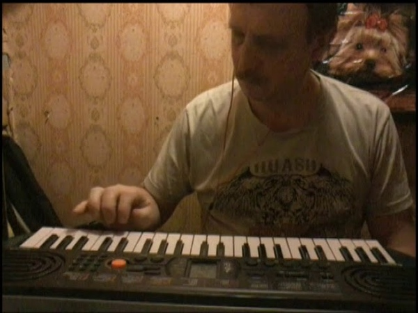 Полька.На клавишах.Импровизация.