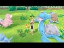 NS - Pokémon: Let's Go, Pikachu! Pokémon: Let's Go, Eevee! Art Screenshot Portfolio