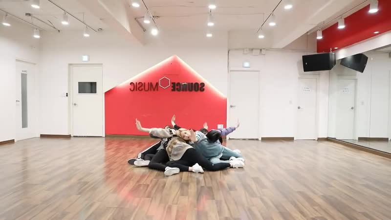 Gfriend(여자친구) - Sunrise (해야) dance practice [Mirrored]